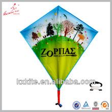 single line advertising diamond gift kite