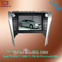 top quailty DVD Car Audio Navigation System 2 din for Toyota Camry 2012