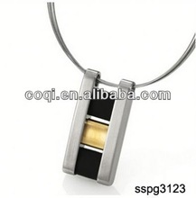 2014 Cheapest fashion stainless steel enamel pendant Jewelry gift pottery valentines day gift