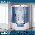 5.2 pies- l de hidromasaje bañera de masaje baño de vapor portátil de ducha habitación hs-sr1600-2x
