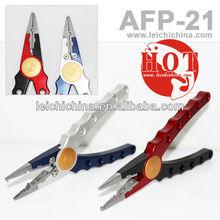 2013 New 100% machine cut aluminium fly fishing pliers