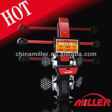 Miller 20% best seller avance de vehículos de motor 3d alineación de las ruedas y el equilibrio de la máquina para taller ( CE aprobado )