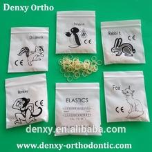 Denxy Dental Supplies Ligature tie Power chain Seperators Orthodontic Elastics