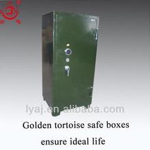 army green mechanical lock metal pistol safe