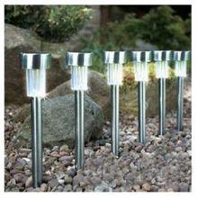 Stainless Steel Waterproof Outdoor Garden Solar Powered Light