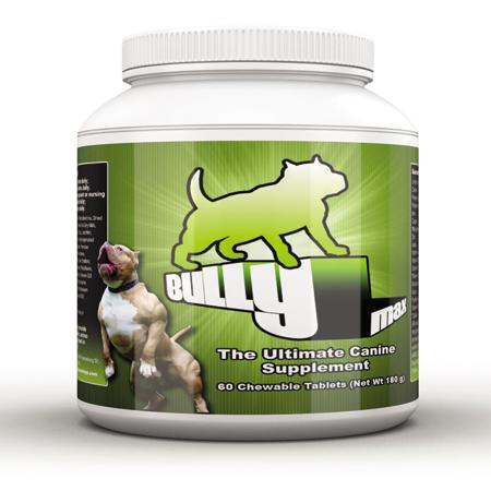 Bully max construção muscular suplemento para cães/ cão vitaminas