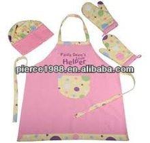 Promotional cotton/pvc apron kitchen,apron veneers,waist apron