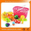 Kids plastic fruit toys