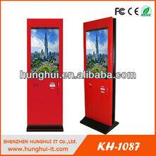 55 Inch Touch Screen Kiosk, Network LCD Advertising Kiosk Displayer