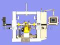 Llantas de desecho de la planta de reciclaje- cnc máquina de pulir para el recauchutado