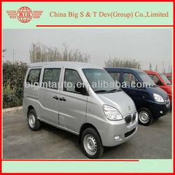 2013 Europe IV standard,8 seats,MFI gasoline engine,997cc displacement,45Kw, silvery brand new 6390 model mini Van on sale