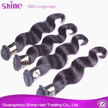 Best selling human hair product, Virgin Brazilian hair
