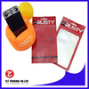 Laminated aluminum foil cell phone case pouch bags with hanger