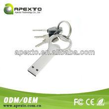 metal opener bottle keychain usb flash memory disk (UK-0005)