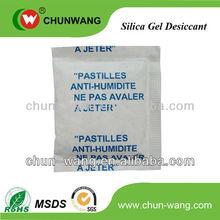 Food grade Silica Gel Desiccant paks