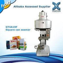 Semi automatic square can seam sealer