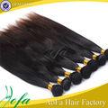 estilos de la moda muy suave y reforzar relajado de la trama del pelo recto