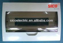 4-38 way MCB electrical Distribution Box/4 way distribution box
