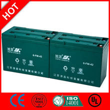 Hot! Rechargeable boat battery lead acid 12V 6-FM-42/CE UL ISO QS