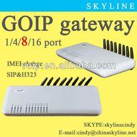 call center equipment/best buy gsm GOIP Gateway 8 channels