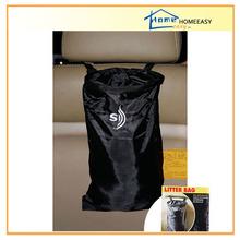210D polyester car seat back hanging trash organizer CW612