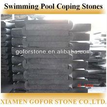 Swimming pool coping stones, stone swimming pool edge