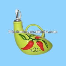 Wholesale Ceramic Olive Oil & Vinegar Bottle Cruet Set