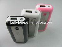 Universal power bank 5600mAh portable charger for iphone/ipad/ipod/samsung/htc/nokia/LG/PDA KD-015