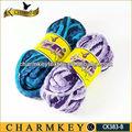 fancy fios para tricotar cachecol