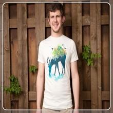 2015 Innovatively Custom Design Pure Cotton T-shirt Printing For Men