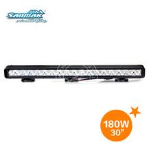 New! CE Certified 10W Cree Offroad Led Light Bar 18pcs 10W Cree LED 180W Light Bar