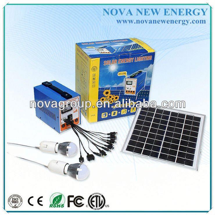 6w cheap solar energy system compact solar power system