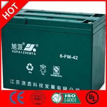 Hot! 12v caravan leisure battery 12V 6-FM-42/CE UL ISO QS