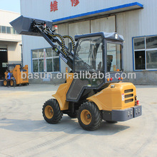 4WD/AC/CE approved mini wheel loader for sale W6FD08
