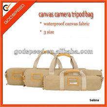 2014 waterproof cotton canvas camera tripod bag