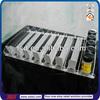 TSD-P022 Spring-feed shelf rail divider/pp plastic divider tray/plastic bottle divider