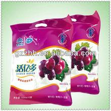 Plastic packaging snack food bag