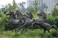Modern Large cast Bronze Horse Sculpture for Garden decoration