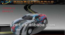 solar interesting car / track race car