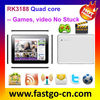 Webcam camera: 9.7 quad core micro digit tablet with free download movies electronics 1G DDR3/16G Rom