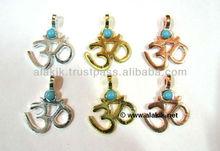 Spiritual Om Metal pendants