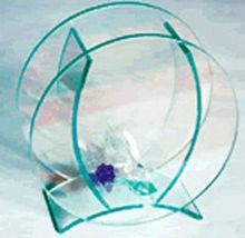Customized Christmas gifts acrylic Fish Bowl Aquarium Tank Betta Goldfish