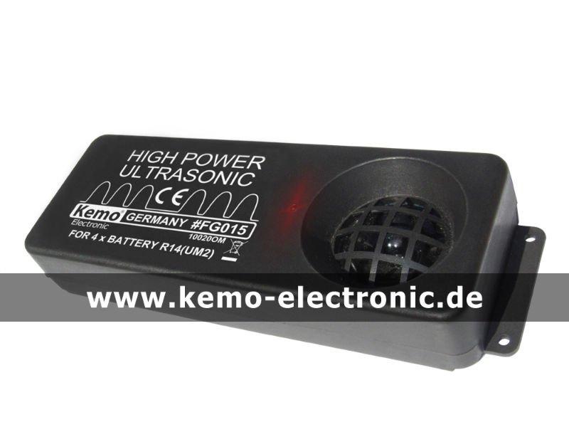 De alta potência gerador de ultra-som [ FG015 ] Kemo eletrônico