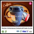 Logotipo personalizado impresso parede dupla xícaras de café/expresso/cappuccino