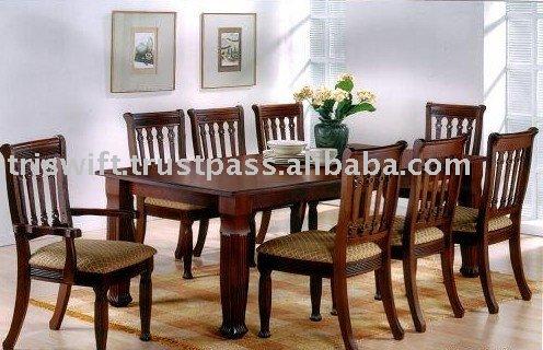 Mesa de comedor conjunto sillas comedor identificaci n del for Muebles mesas y sillas de comedor