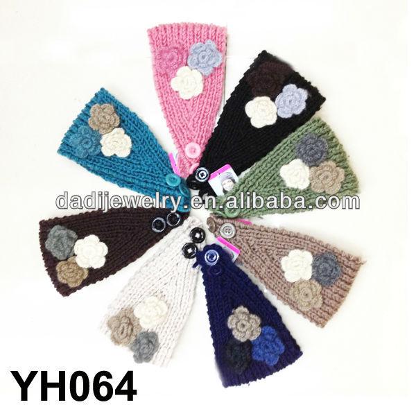 el yapımı headbands takı tığ headbands çiçek tasarım