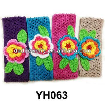 Wool Infant Headwear Jewelry Crochet Headbands