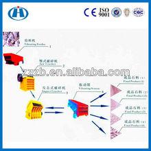 zhengzhou factory stone crusher line for crushing stone