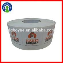 Custom Waterproof Adhesive Logo Printing Flexible Packaging Labels