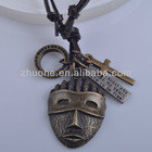 Fashion Jewelry The pharaoh of Egypt Necklace leather necklace for men PXL-046